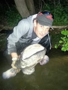 julien silure Guyane Aventure pêche nature votre guide